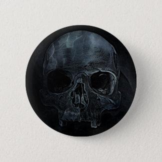 Gothic halloween medical skeleton bone Xray Skull Button