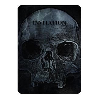 Gothic halloween medical skeleton bone Xray Skull Card