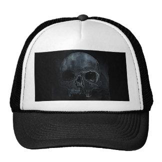 Gothic halloween medical skeleton bone Xray Skull Trucker Hat