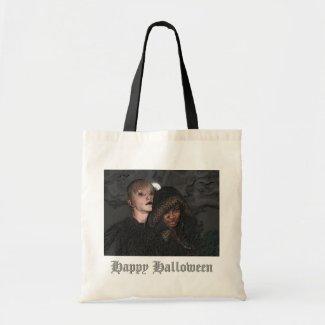 Gothic Happy Halloween Bag bag