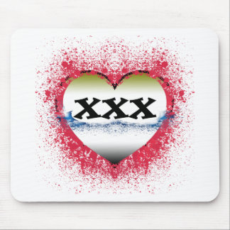 Gothic Heart 30th Mouse Pad