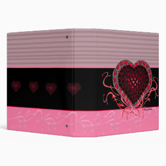 Gothic Heart Avery Binder