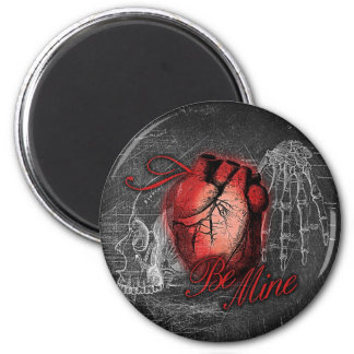 Gothic Heart Be Mine Magnet