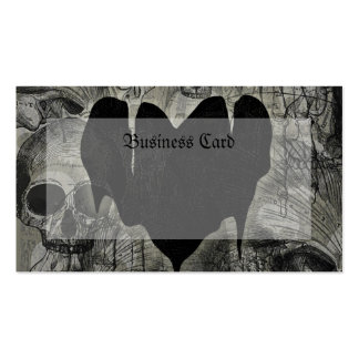 Gothic Heart Business Card
