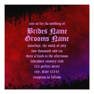 Gothic Heart Invitation Announcements
