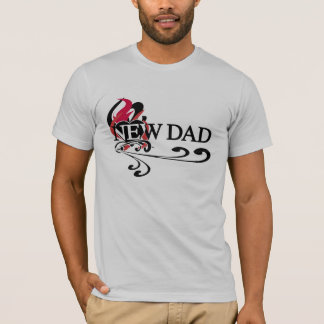 Gothic Heart New Dad T-Shirt