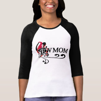 Gothic Heart New Mom T-Shirt