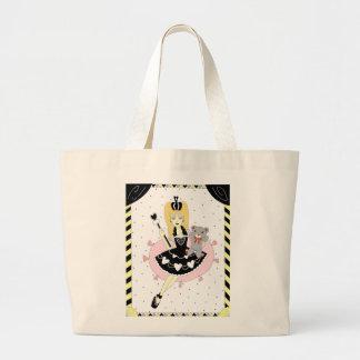 Gothic Hearts Princess Large Tote Bag