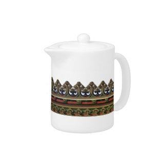 Gothic Home Decor-Porcelain Teapots-Best Teapot