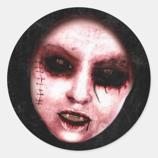 Gothic Horror Art Stickers