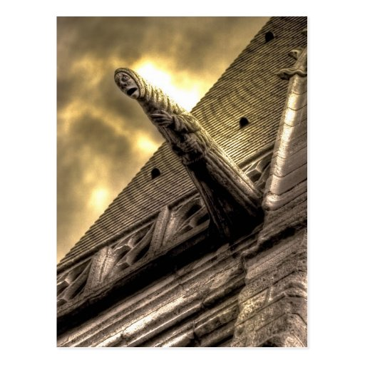 Gothic Horror Postcard