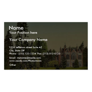 Gothic House I, park of Worlitz, Anhalt, Germany v Double-Sided Standard Business Cards (Pack Of 100)