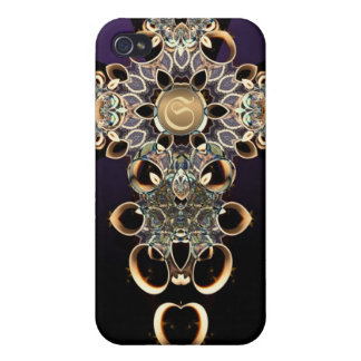 Gothic illusionary Custom Name Speck iPhone 4 Cases For iPhone 4