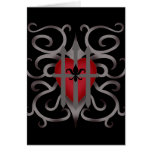 Gothic imprisoned heart romantic Valentine's day Card