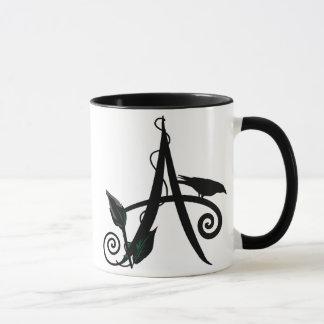 'Gothic Initial A' Mug