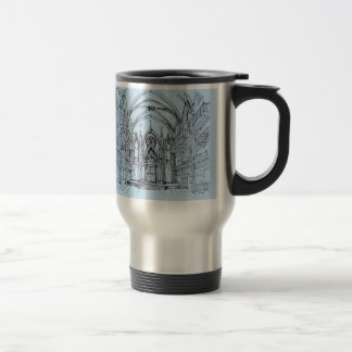 Gothic interior Orensanz Coffee Mugs
