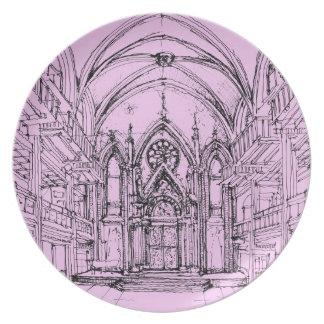 Gothic interior Orensanz Plate
