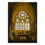 Gothic Irish Church, Connemara Ireland Card