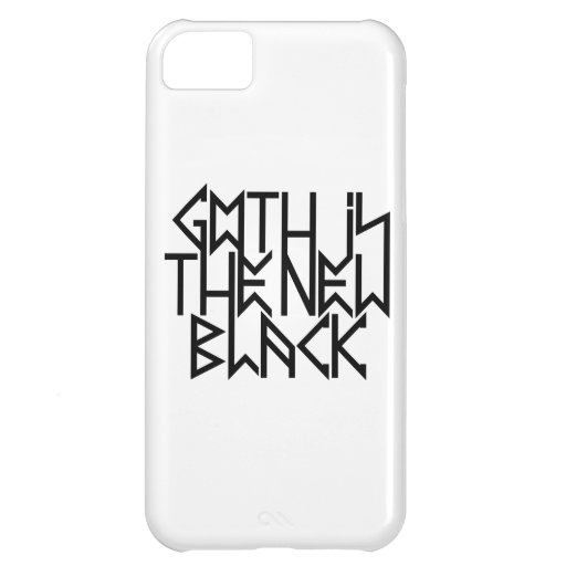 Gothic is the new black No.2 (black) iPhone 5C Case