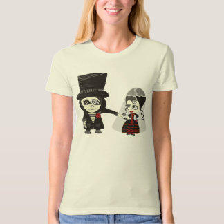 Gothic Just Married T-Shirt