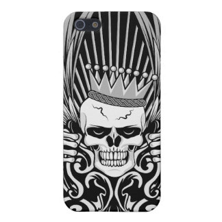 Gothic King Skull Cover For iPhone SE/5/5s