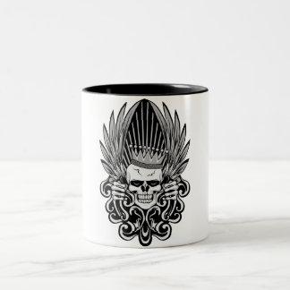 Gothic King Skull Coffee Mugs
