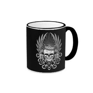 Gothic King Skull Coffee Mug