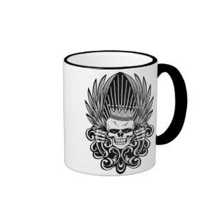 Gothic King Skull Mug