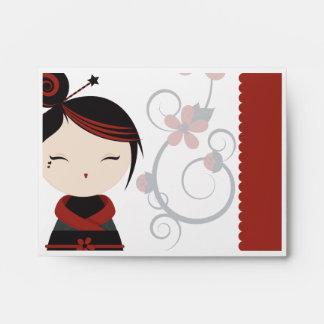 Gothic Kokeshi Envelope