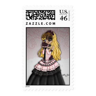 Gothic Lace Bride Postage 3