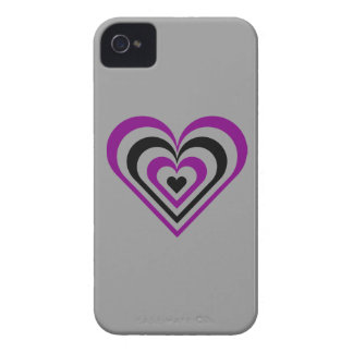 Gothic Layered Heart iPhone 4 Covers