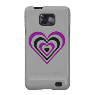 Gothic Layered Heart Galaxy SII Cases