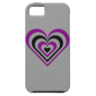 Gothic Layered Heart iPhone SE/5/5s Case