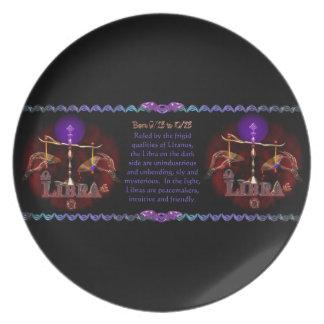 Gothic Libra zodiac astrology by Valxart.com Plate