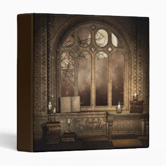 Gothic Library Window Binder