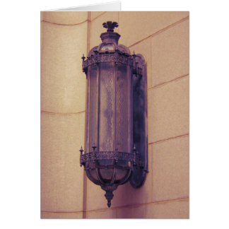Gothic Light Fixture card