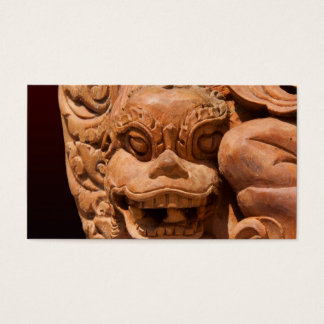 Gothic Lion Statue Business Card