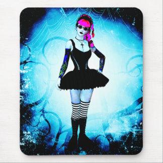 Gothic Lolita Ballerina Thorn Mousepad