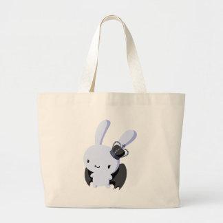 Gothic Lolita Bunny Tote Bag