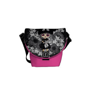 Gothic Lolita Child - why so sad PinkyP Courier Bags