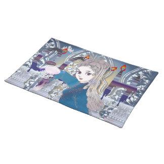 Gothic & Lolita manga japan text Place Mat