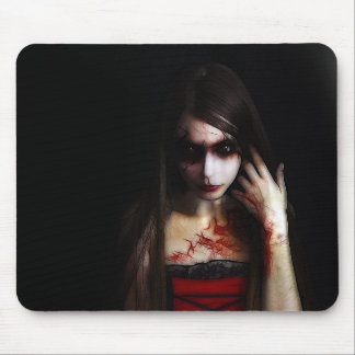 gothic look mouse pad