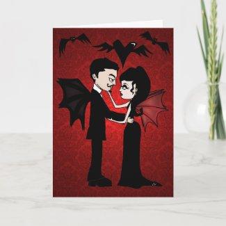'Gothic Love' Card card