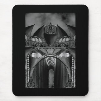 Gothic Mansion Mouse Pad
