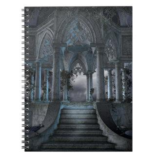 Gothic Mausoleum Notebook
