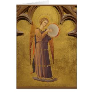 Gothic Medieval Angel Blank Card