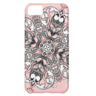 Gothic Medieval Floral Design iPhone 5C Cover