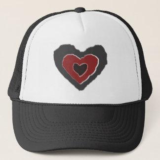 Gothic Melting Love Heart Hat