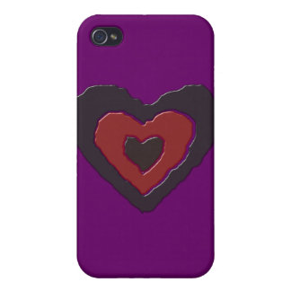 Gothic Melting Love Heart  iPhone 4/4S Case