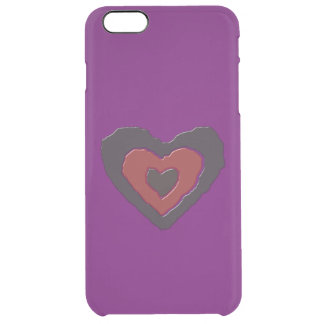 Gothic Melting Love Heart iPhone Case